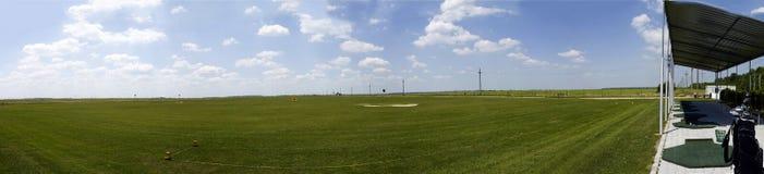 Terreno del golf Fotografía de archivo