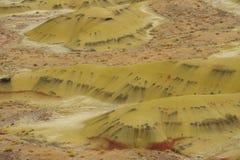 Terreno dell'arenaria Immagini Stock
