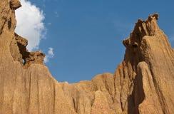 Terreno della montagna Fotografia Stock