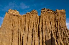 Terreno della montagna Fotografie Stock