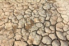 Terreno dello sbarco di siccità Immagini Stock Libere da Diritti