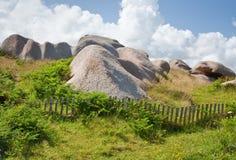 Terreno incolto della roccia Immagine Stock
