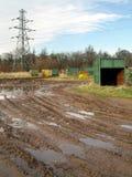 Terreno incolto industriale 2 Fotografia Stock