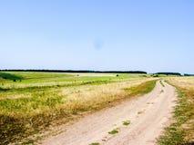 Terreno montanhoso do verão imagem de stock