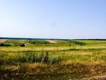 Terreno montanhoso do verão fotos de stock