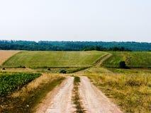 Terreno montanhoso do verão imagens de stock