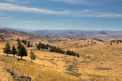 Terreno montanhoso em Oregon central imagem de stock