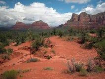 Terreno occidentale vicino a Sedona, Arizona Fotografia Stock Libera da Diritti