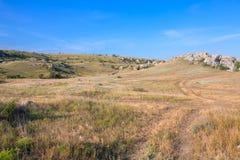 Terreno rochoso Imagem de Stock