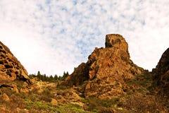Terreno rugoso de Gran Canaria Imágenes de archivo libres de regalías