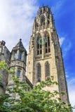 Terreno velho Yale University New Haven Connecticut da torre de Harkness imagens de stock