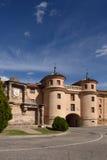 Terrer door, Calatayud. Zaragoza province, Aragon, Spain Stock Photography