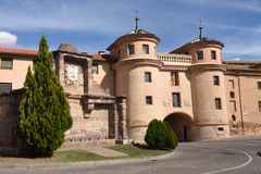 Terrer door, Calatayud. Zaragoza province, Aragon, Spain Stock Photos