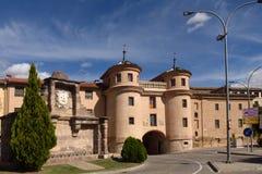 Terrer door, Calatayud. Zaragoza province, Aragon, Spain Stock Photo