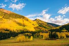 Terres colorées du Colorado Image libre de droits