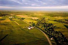 Terres cultivables Photos stock