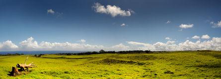 Terres cultivables d'Hawaï Image libre de droits