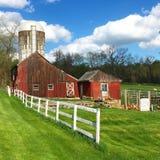 Terres cultivables de yankee photos libres de droits