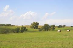 Terres cultivables et zones Images stock