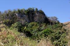 Terres cultivables près de Mirebalais, Haïti Photo libre de droits