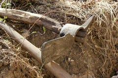 Terres cultivables près de Mirebalais, Haïti Image libre de droits