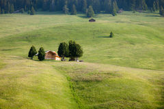 Terres cultivables vertes Photo libre de droits