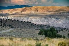 Terres occidentales magnifiques photo stock