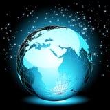 Terrestre le monde Image libre de droits