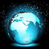 Terrestre o mundo Imagem de Stock Royalty Free