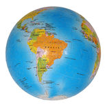 Terrestrial globe Royalty Free Stock Photo