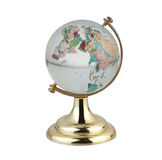 Terrestrial globe in chinese language. Terrestrial globe for learning about world map in chinese language Stock Images