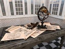 Terrestrial globe Stock Photography
