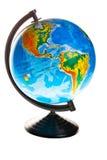 Terrestrial globe Stock Image