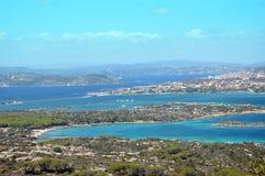 Terrestrisches Paradies im Mittelmeer Archipel von Maddalena, Caprera-Insel stockfotos