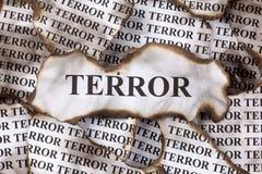 terreur Images libres de droits