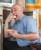 Terrible hunger Stock Photography