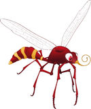Terrible mosquito from. A cartoon film Royalty Free Stock Images