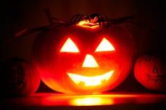 Terrible pumpkin Stock Images