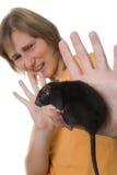 Terrible rat Stock Photography