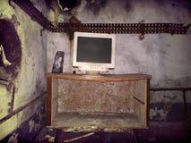 Terrible room the Apocalypse near. Royalty Free Stock Photography