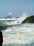 Terrible Tilly Lighthouse on Oregon Coast Stock Photo
