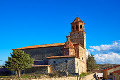 Terriente village in Sierra de Albarracin Teruel Stock Photos