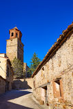 Terriente village in Sierra de Albarracin Teruel Royalty Free Stock Photography