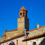 Terriente village in Sierra de Albarracin Teruel Stock Image
