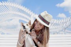 Terrier de Jack Russell Fotografia de Stock