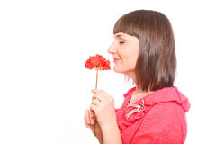 Terrific smell... Stock Images