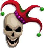 Terrify skull Stock Photography