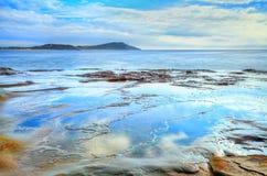 Terrigal避风港NSW澳大利亚 图库摄影