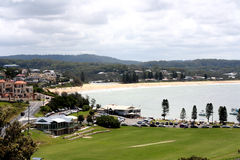 Terrigal Beach and Terrigal City Royalty Free Stock Image