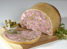 Terrine. A traditional french holiday food Stock Photography